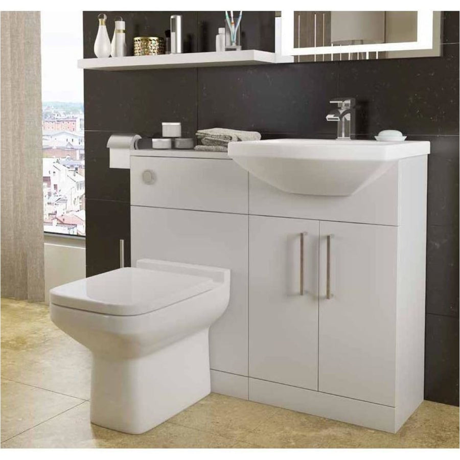 Kartell Trim 500mm WC Unit Set includes pan,seat and cistern