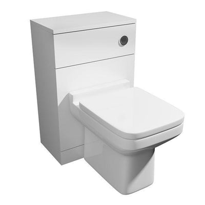 Kartell Trim 500mm WC Unit Set includes pan,seat and cistern - EverythingBathroom.co.uk