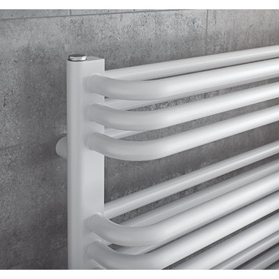 MAGNUS TOWEL RADIATOR (WHITE) - EverythingBathroom.co.uk