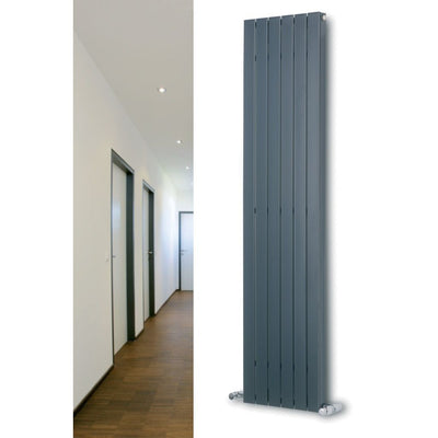 MARS DELUXE SINGLE VERTICAL RADIATOR (WHITE) - EverythingBathroom.co.uk