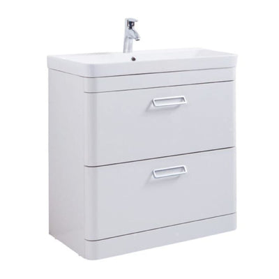 Metro Furniture Pack - Wall Hung Drawer Unit with BTW WC - EverythingBathroom.co.uk