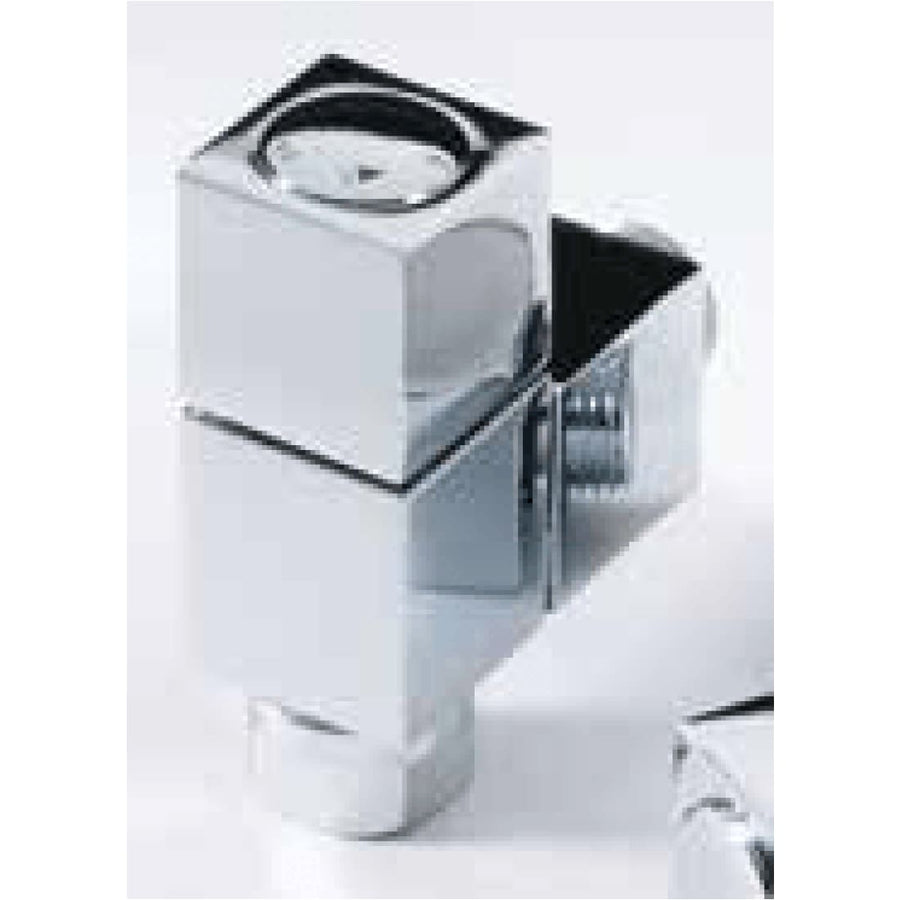 Modern Radiator Valves - Square Straight