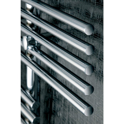 PARALLEL RAIL TOWEL RADIATOR SINGLE VERTICAL - EverythingBathroom.co.uk