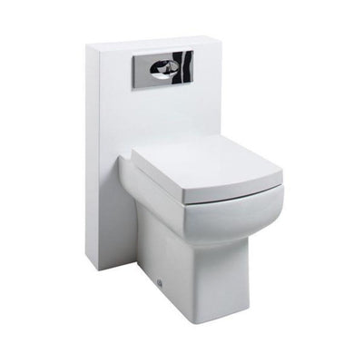 Polymarble  Shroud WC Unit with Dasiy Lou back-to-wall Pan - EverythingBathroom.co.uk
