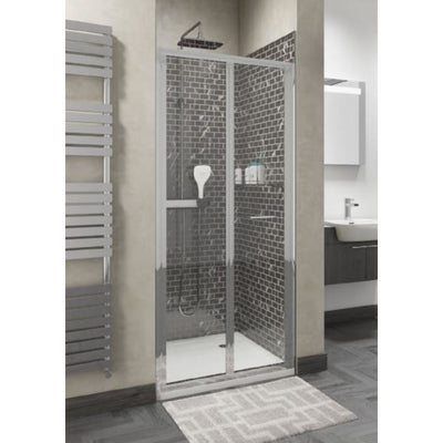 Seis -  Shower Enclosure Bifold Door - EverythingBathroom.co.uk