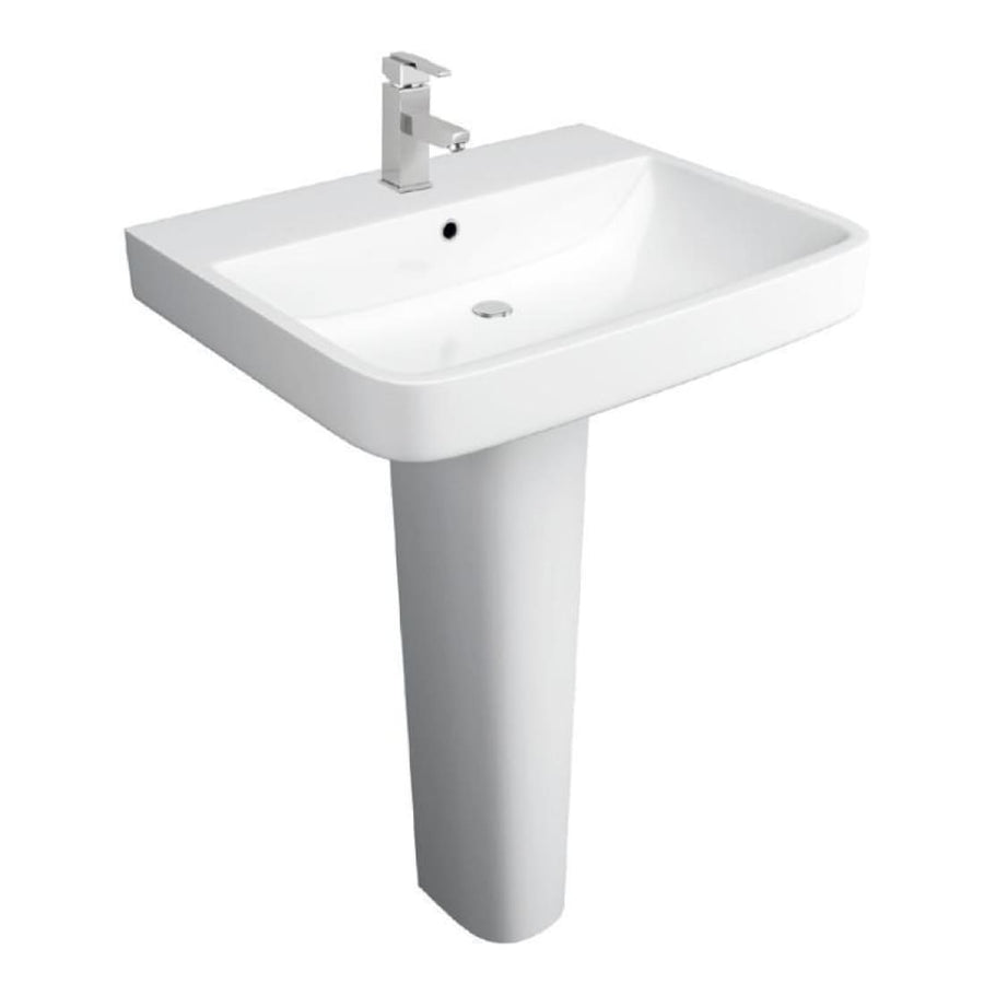 Sicily 4 Piece Bathroom Set, including Toilet Seat - EverythingBathroom.co.uk