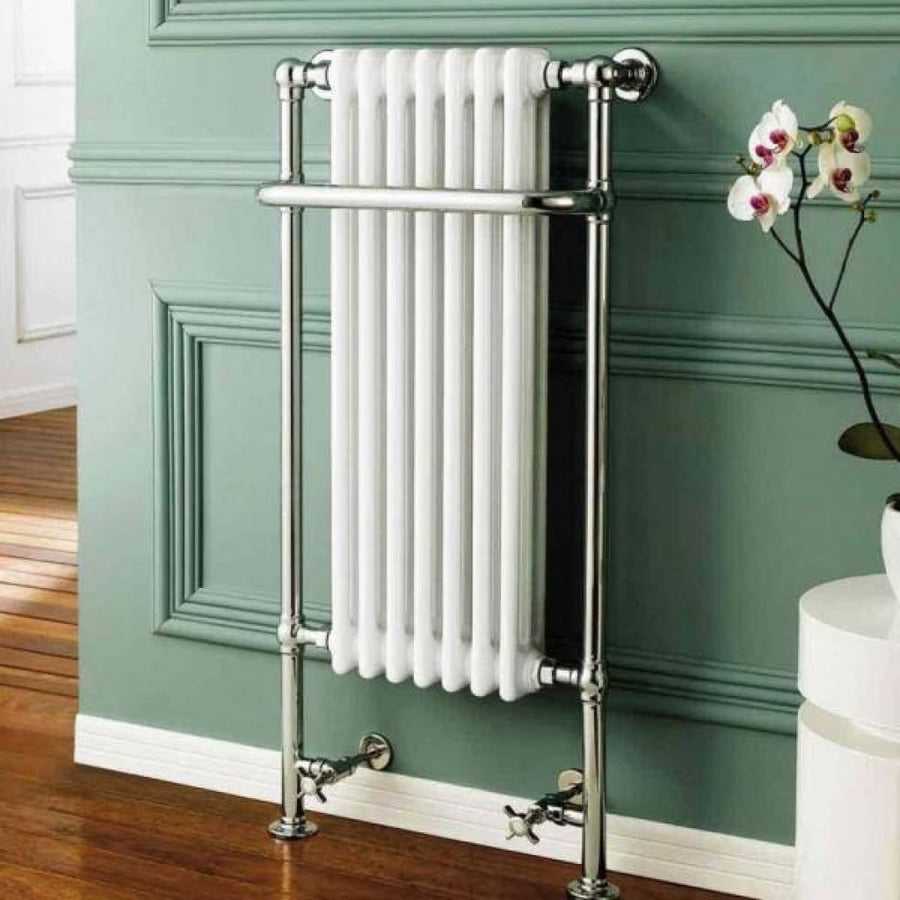Traditional Towel Rail Radiator - 1130mm x 553mm