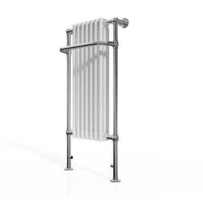 Traditional Towel Rail Radiator - 1130mm x 553mm - EverythingBathroom.co.uk