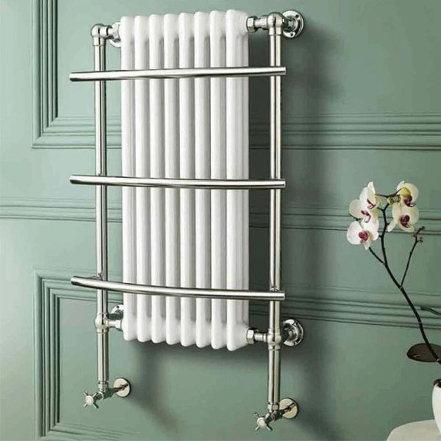 Traditional Wall Hung Towel Rail Radiator - 630mm x 1000mm