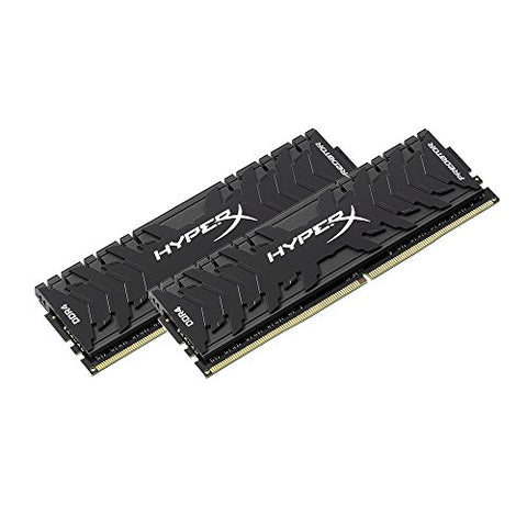 Kingston Technology HyperX Predator Black 16GB Kit 3000MHz DDR4 CL15 DIMM XMP Desktop Memory HX430C15PB3K2/16