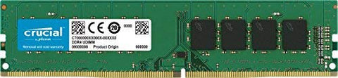 Crucial 8GB Single DDR4 2400 MT/s (PC4-19200) SR x8 DIMM 288-Pin Memory - CT8G4DFS824A