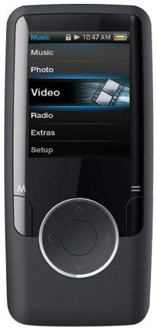 Coby MP601-2GBLK 1.4-Inch Video MP3 Player with FM, 2 GB Flash Memory (Black) (Discontinued by manufacturer)
