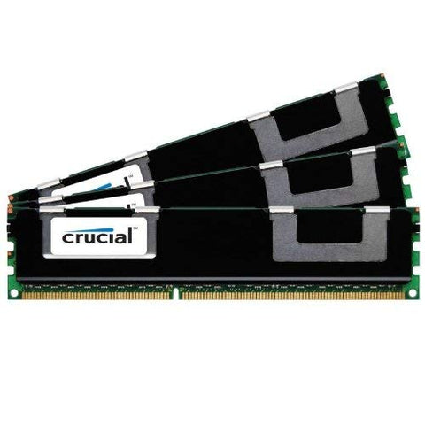 Crucial 24 GB (3 x 8 GB) DIMM 240-pin DDR3 SDRAM ECC Registered DDR3 1333 (PC3 10600) Server Memory (CT3KIT102472BB1339)