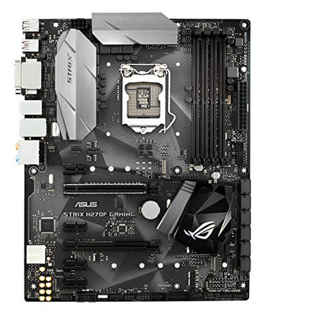 ASUS ROG STRIX H270F GAMING LGA1151 DDR4 DP HDMI DVI M.2 ATX Motherboard with USB 3.1