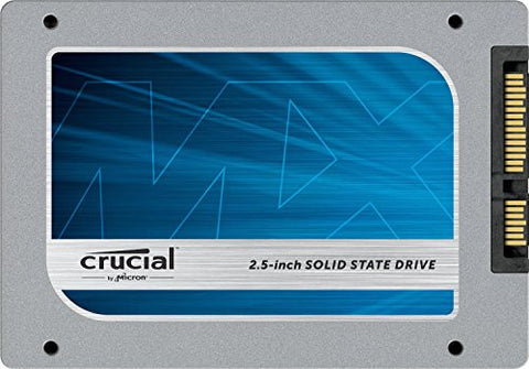 Crucial MX100 512GB SATA 2.5-Inch 7mm Internal Solid State Drive with 9.5mm Adapter