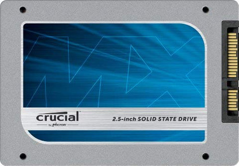 "(OLD MODEL) Crucial MX100 128GB SATA 2.5"" 7mm (with 9.5mm adapter) Internal Solid State Drive CT128MX100SSD1"