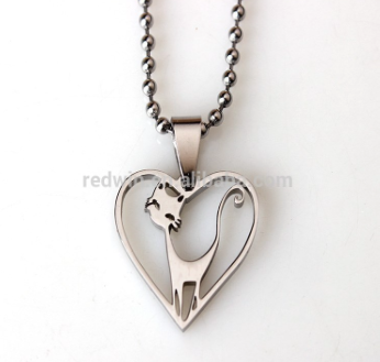 Must Have: Cat Lovers heart shape pendant