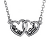 Specially for Mum & Child: Zinc Alloy Jewelry Necklace