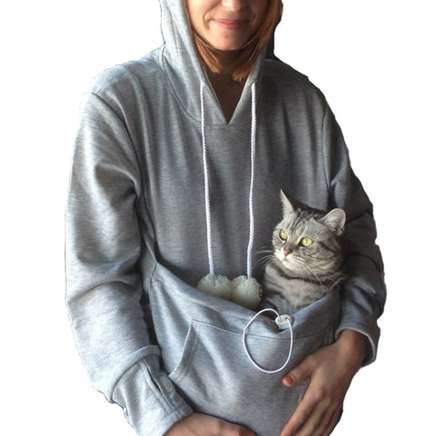 Cat Lovers Pouch Hoodies Pullovers Free Shipping