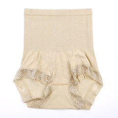 New SlimFit High Waist Shapers Panties Lace #2010