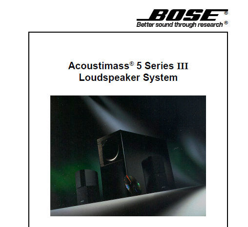 BOSE ACOUSTIM 5 SERIES III LOUDSPEAKER SYSTEM SERVICE MANUAL INC PCB on asus wiring diagram, scosche wiring diagram, at&t wiring diagram, clark wiring diagram, ge wiring diagram, panasonic wiring diagram, jvc wiring diagram, apc wiring diagram, cerwin vega wiring diagram, rca cable wiring diagram, korg wiring diagram, speaker wiring diagram, boss wiring diagram, mitsubishi wiring diagram, apple wiring diagram, samsung wiring diagram, definitive technology wiring diagram, cooper wiring diagram, sony wiring diagram, benq wiring diagram,