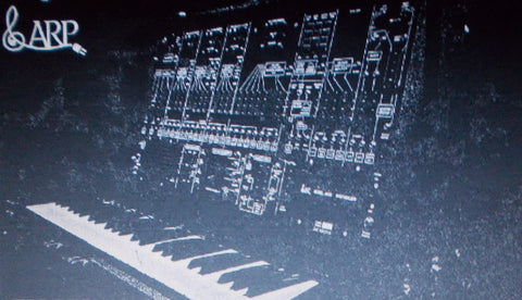 ARP 2600 SERIES SYNTHESIZER PATCH BOOK  124 PAGES ENG