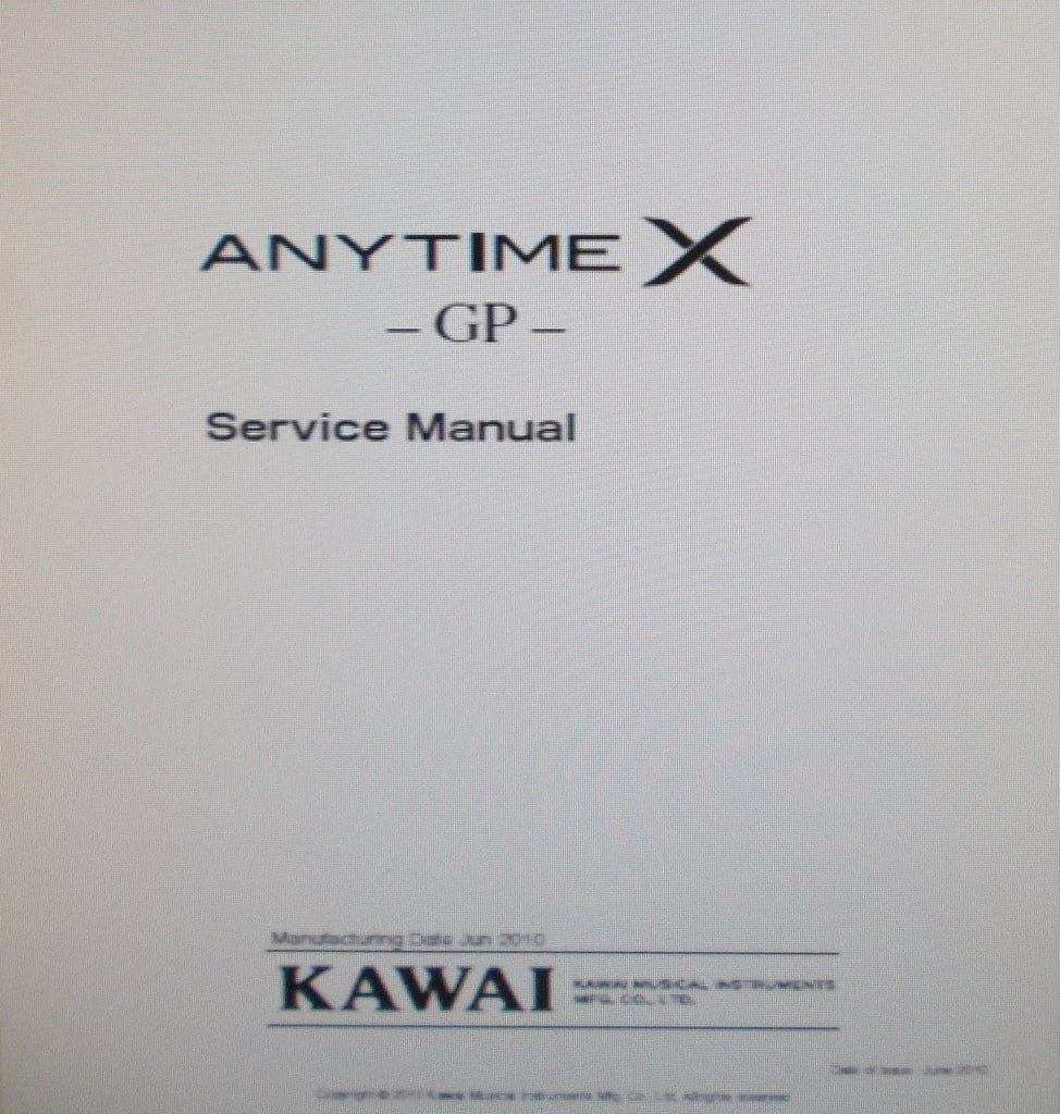 kawai anytime x gp piano service manual inc blk diag wiring diags rh themanualsservice com service guide inc warren oh guide services inc kingston springs tn