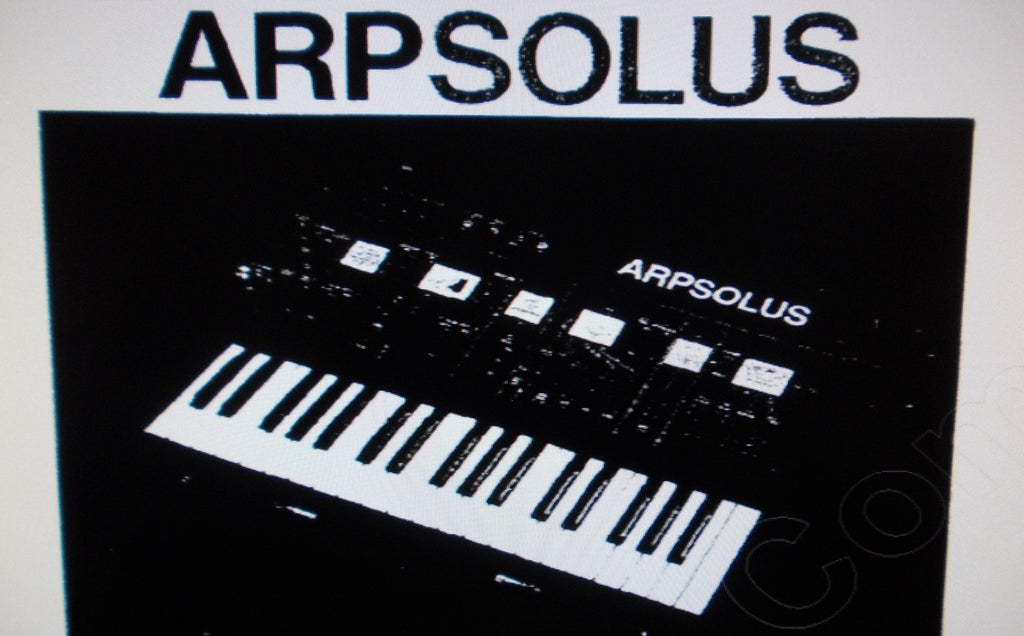 ARP SOLUS SYNTHESIZER SERVICE MANUAL INC SCHEMS AND PCB 33 PAGES ENG