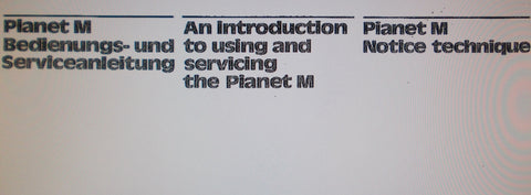 HOHNER PIANET M MINI PIANO ELECTRONIC KEYBOARD AN INTRODUCTION TO USING AND SERVICING INC SCHEMS AND PCB  9 PAGES ENG DEUT FRANC