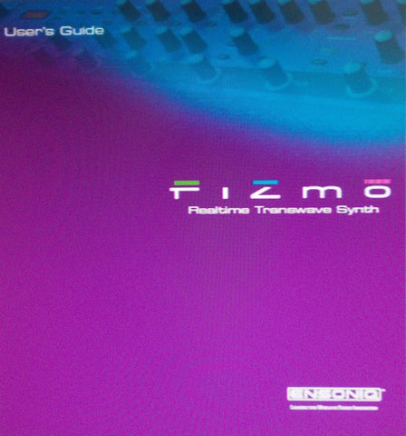 ENSONIQ FIZMO REALTIME TRANSWAVE SYNTHESIZER USER'S GUIDE VER 1.10 58 PAGES ENG