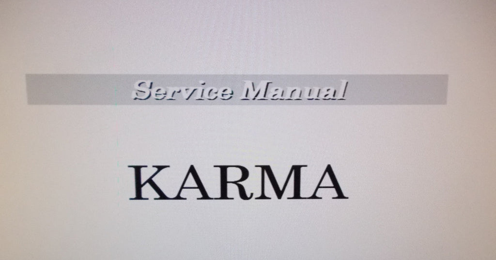 KORG KARMA MUSIC WORKSTATION SERVICE MANUAL INC BLK DIAG SCHEMS PCBS AND PARTS LIST 17 PAGES ENG