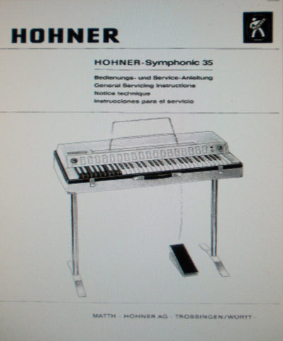 hohner – THE MANUALS SERVICE
