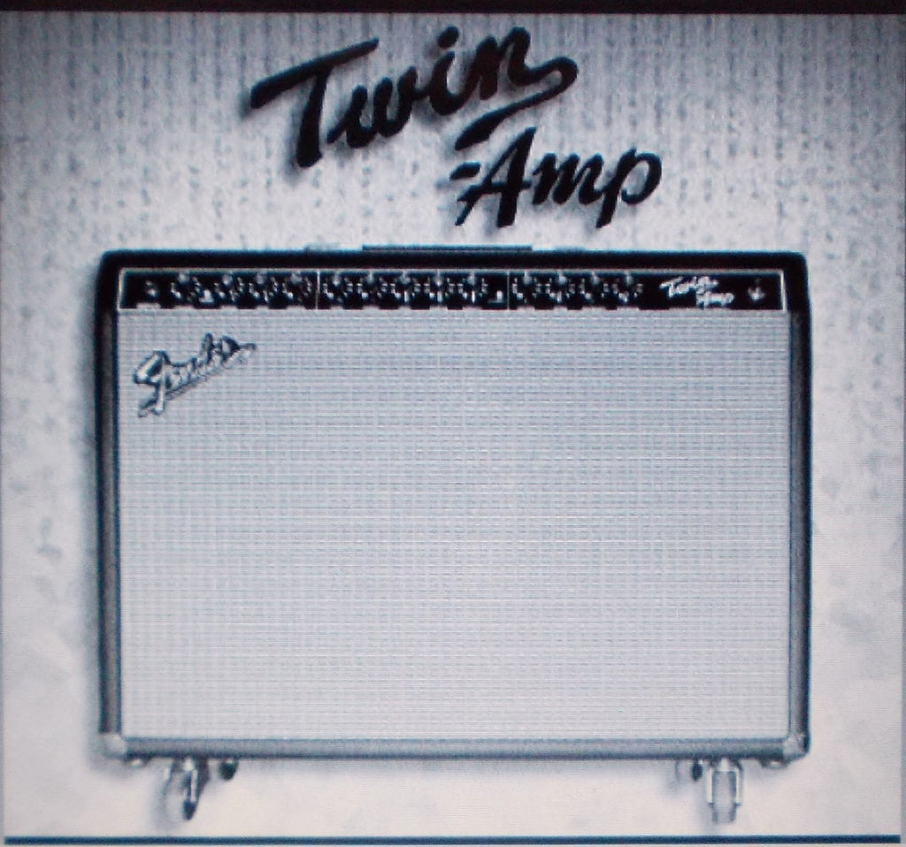 FENDER PRO TUBE SERIES TWIN AMP INSTRUCTION MANUAL 28 PAGES ENG ESP FRANC ITAL DEUT