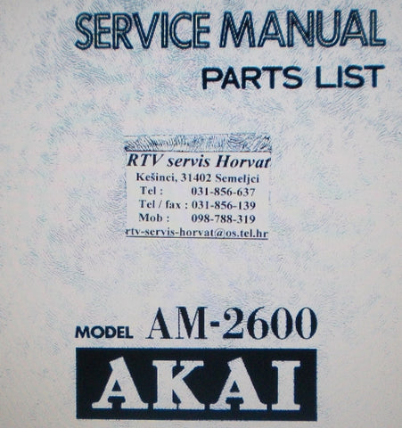 products the manuals service Akai AX80 Analog Polyphonic Synthesizer Akai AX60 Vintage Analog Synthesizer