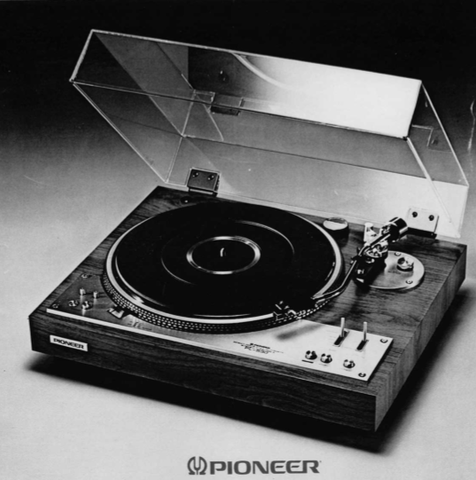 PIONEER PL-530 DIRECT DRIVE 2 MOTOR FULL AUTOMATIC TURNTABLE SERVICE MANUAL INC PCBS SCHEM DIAGS AND PARTS LIST 41 PAGES ENG