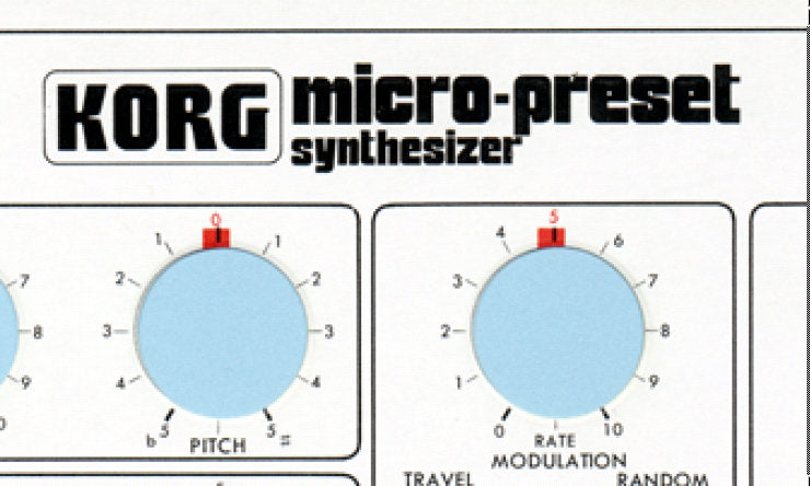 KORG M-500 MICRO PRESET SYNTHESIZER SETTING CHART 13 PAGES ENG