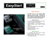 KORG PX4D PX4A PERSONAL MULTI EFFECT PROCESSOR EASY START PAGES ENG