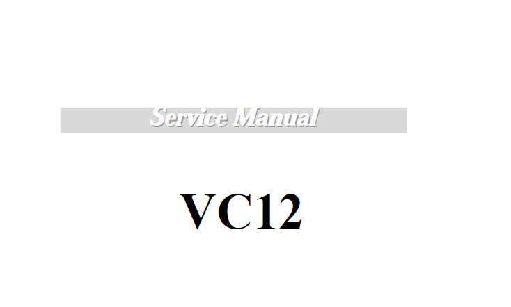 KORG VC12 VOX FOOT CONTROLLER SERVICE MANUAL INC BLK DIAG SCHEM DIAGS PCB'S AND PARTS LIST  14 PAGES ENG