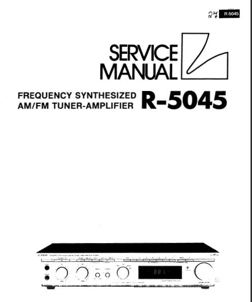 LUXMAN R-5045 FREQUENCY SYNTHESIZED AM FM STEREO TUNER AMP