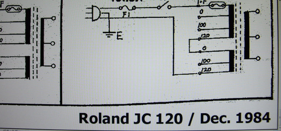 ROLAND JC-120 JAZZ CHORUS GUITAR AMP 1984 SCHEMATIC DIAGRAM 1 PAGE on true bypass schematic, egnater rebel 20 schematic, crate 50 tube amp schematic, vox ac4 schematic, fender power chorus schematic, peavey special 130 schematic, looper pedal schematic, 59 bassman schematic, gibson ga-40 schematic, fender tweed champ schematic, marshall super lead schematic, soldano x88r schematic, tube overdrive pedal schematic, vox ac30 schematic, marshall plexi schematic, marshall jcm 800 schematic, dumble schematic, frontman 25r schematic, marshall 1974x schematic, vox ac30cc schematic,