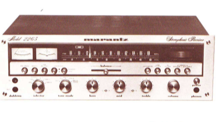 MARANTZ 2265 STEREOPHONIC RECEIVER HANDBOOK OF INSTRUCTIONS INC FUNC BLK DIAG 47 PAGES ENG