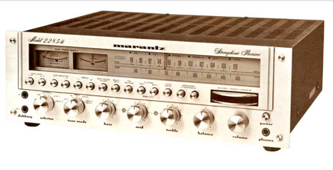 MARANTZ 2285B STEREOPHONIC RECEIVER HANDBOOK OF INSTRUCTIONS INC FUNC BLK DIAG 49 PAGES ENG DEUT FR