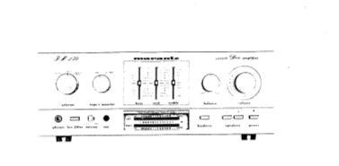 MARANTZ 410 400 250 STEREO CONSOLE AMPLIFIER SERVICE MANUAL INC BLK DIAG PCBS SCHEM DIAGS AND PARTS LIST 27 PAGES ENG