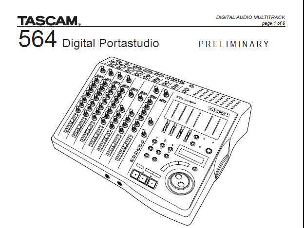 TASCAM 564 MANUAL EBOOK DOWNLOAD