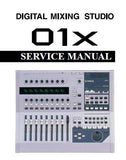 YAMAHA 01X DIGITAL MIXING STUDIO SERVICE MANUAL INC PCB'S SCHEM DIAGS TRSHOOT GUIDE CONN DIAGS BLK DIAGS AND PARTS LIST 153 PAGES ENG