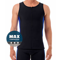 Compression swimwear and swimming tops for man boobs, moobs and gynecomastia - XBODY UK