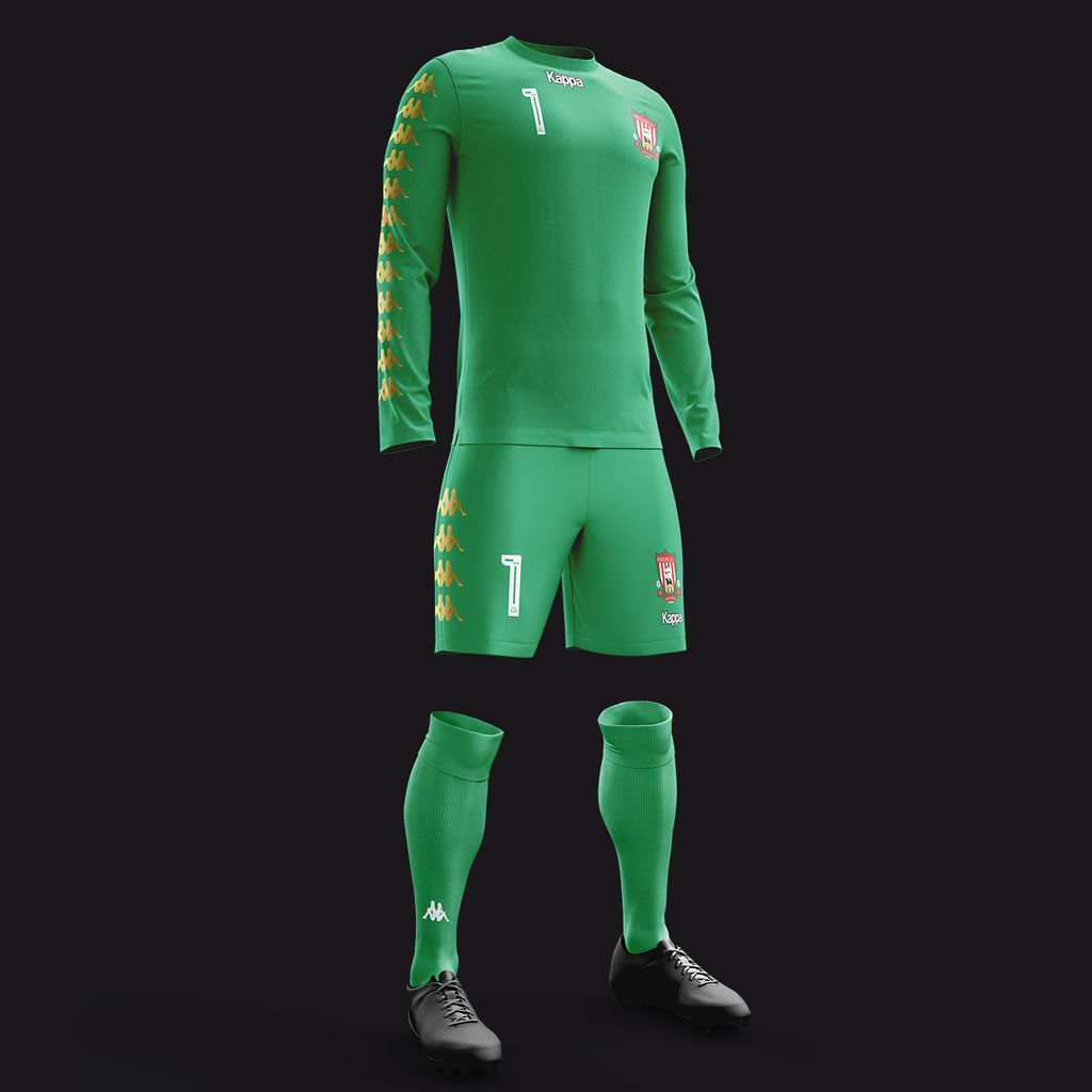 SHOLING FC GOALKEEPER KIT GREEN (LONG SLEEVE)