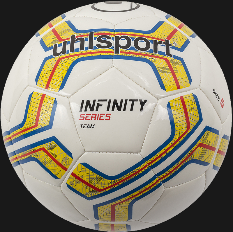 Uhlsport Infinity Training Ball White / Fluro Yellow