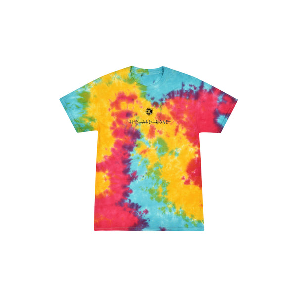 SPIDER TIE DYE TEE MULTI RAINBOW | Tops | HIP AND BONE