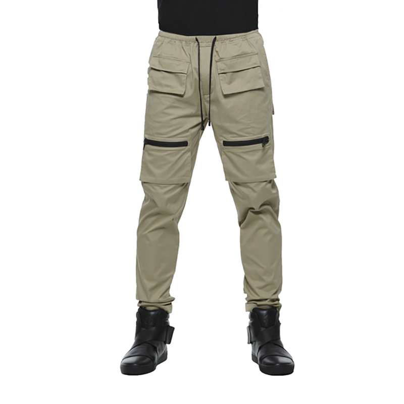 SAFARI COTTON TROUSERS / SAND - HIP AND BONE